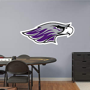 Wisconsin-Whitewater Warhawks Logo Fathead Wall Decal